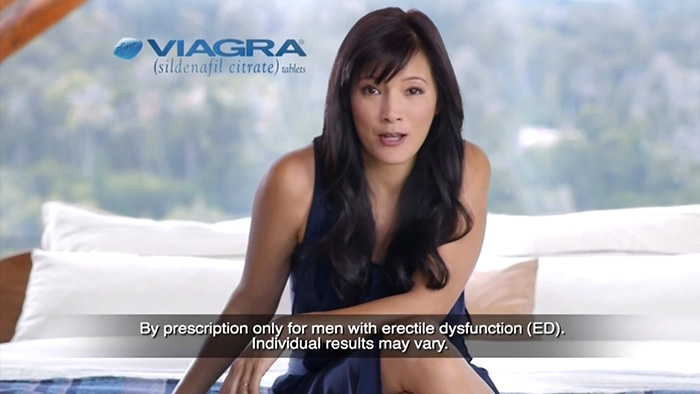 Viagra ad girl 2015